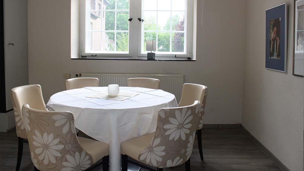 Séparé im Restaurant Altes Amtsgericht Petershagen