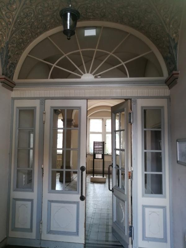Eingangsbereich Altes Amtsgericht Petershagen
